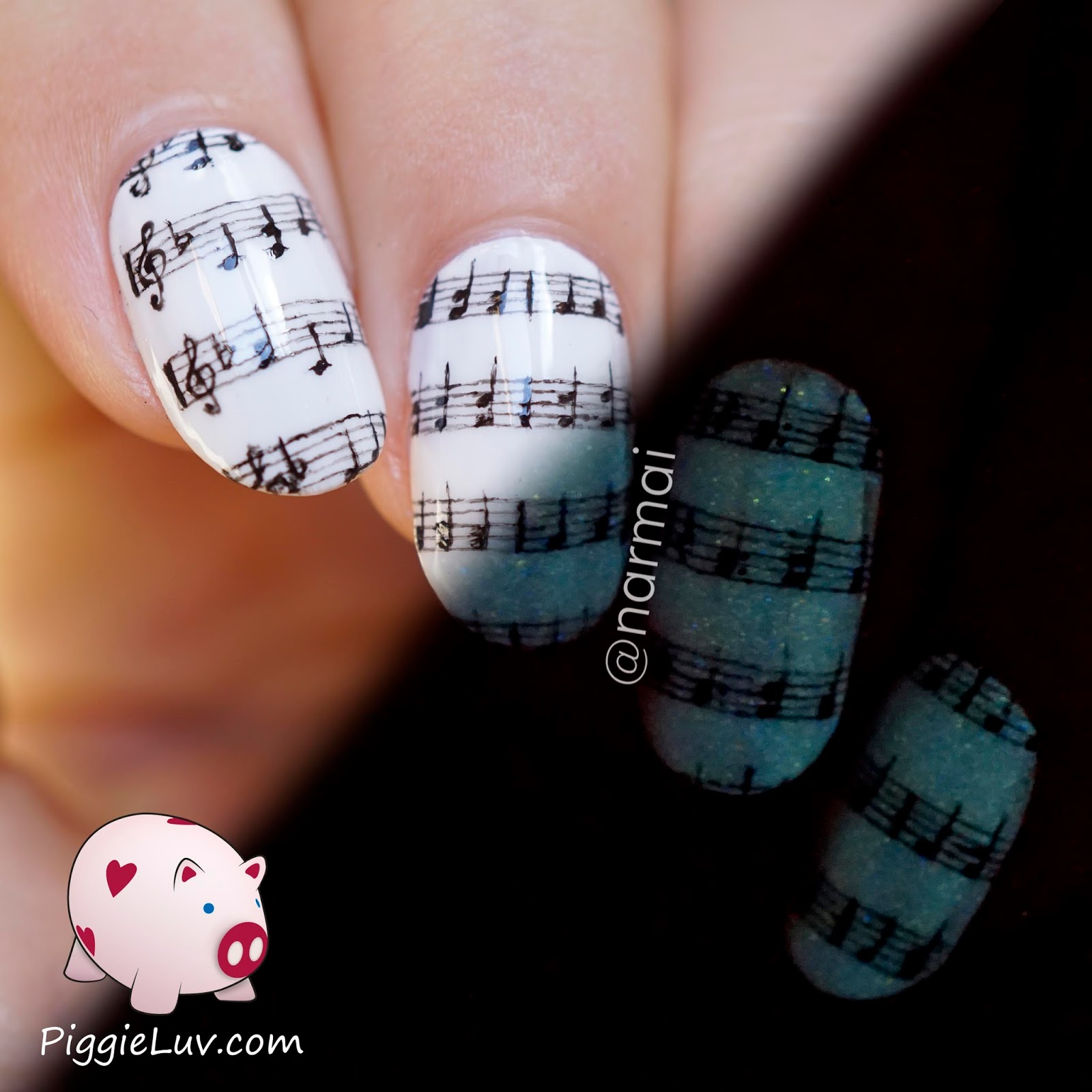 Piggieluv 1 nail art design 4 ways video tutorial 1 nail art design 4 ways video tutorial prinsesfo Gallery