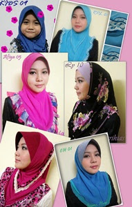 Tudung Cantik-cantik moh ler