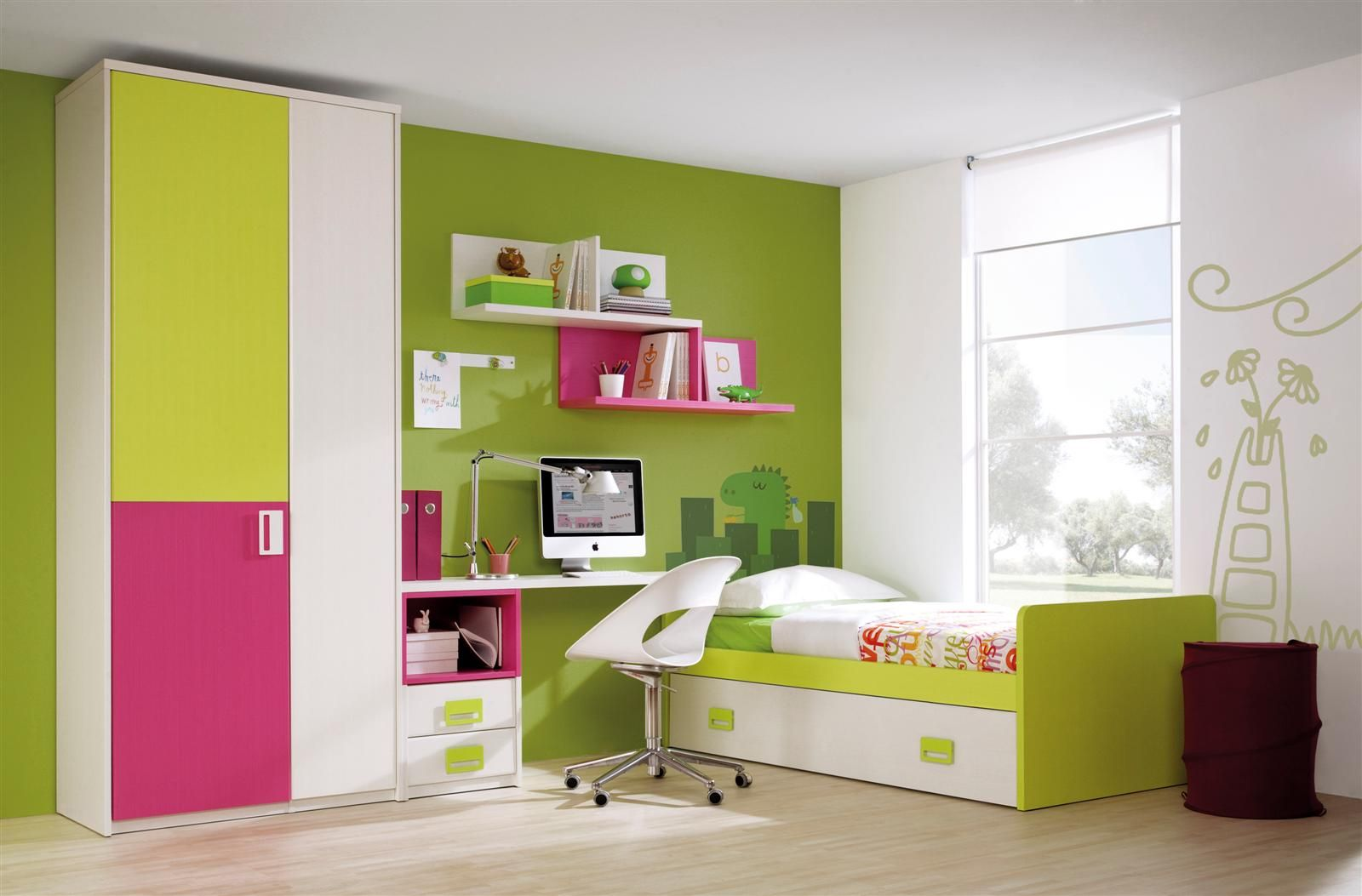 Habitaciones juveniles petit industria - Como pintar mi habitacion ...