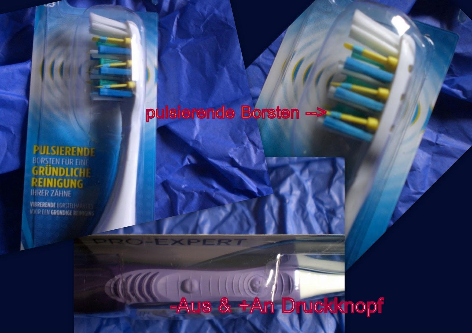 Mit der elektrischen Zahnbrste - Amateur Bilder