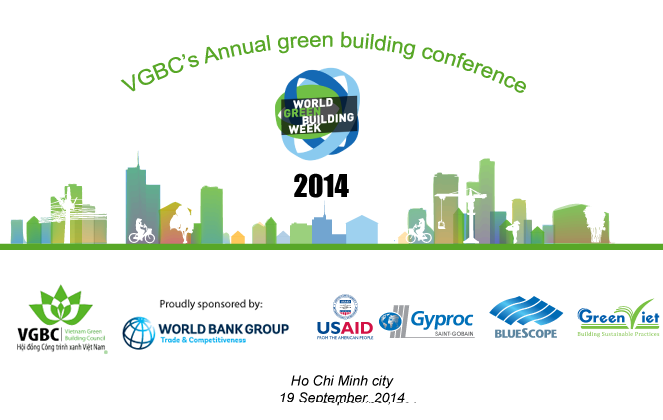 Thông báo tổ chức Hội nghị công trình xanh thường niên 2014