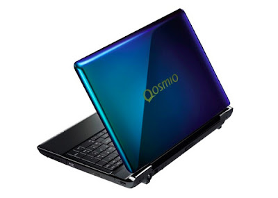Toshiba Dynabook Qosmio T750 Notebook That Can Change Colors