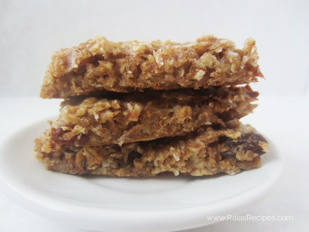 Soaked Granola Bars | www.raiasrecipes.com