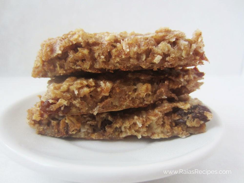 Soaked Granola Bars | www.raiasrecipes.com