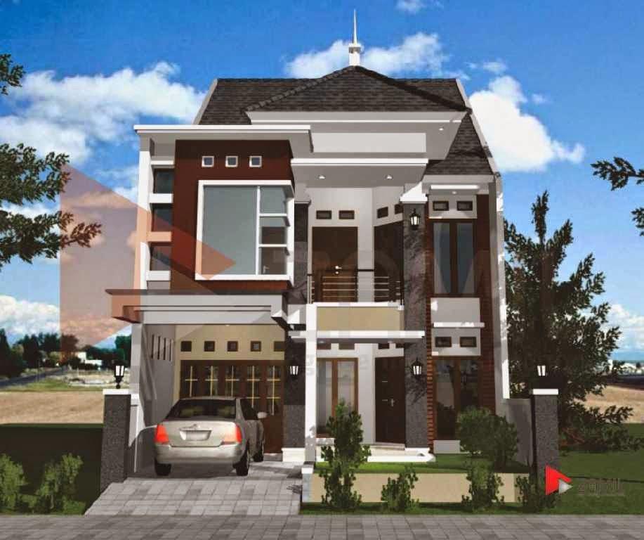 Desain Rumah Minimalis 2 Lantai Murah