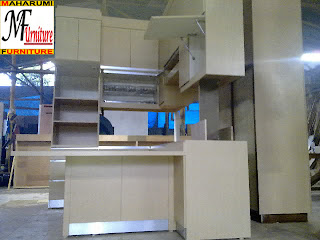 Jasa Pembuatan Setting Interior Furniture Lemari Rak Dapur Kitchen Set