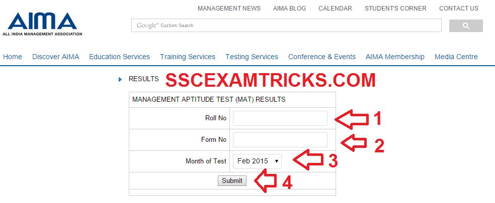 Sscexamtricks Com Mat Result 2015 Released Download Mat