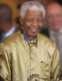 MANDELA AT 94 SOUTH AFRICA FREEDOM FIGHTER ANC