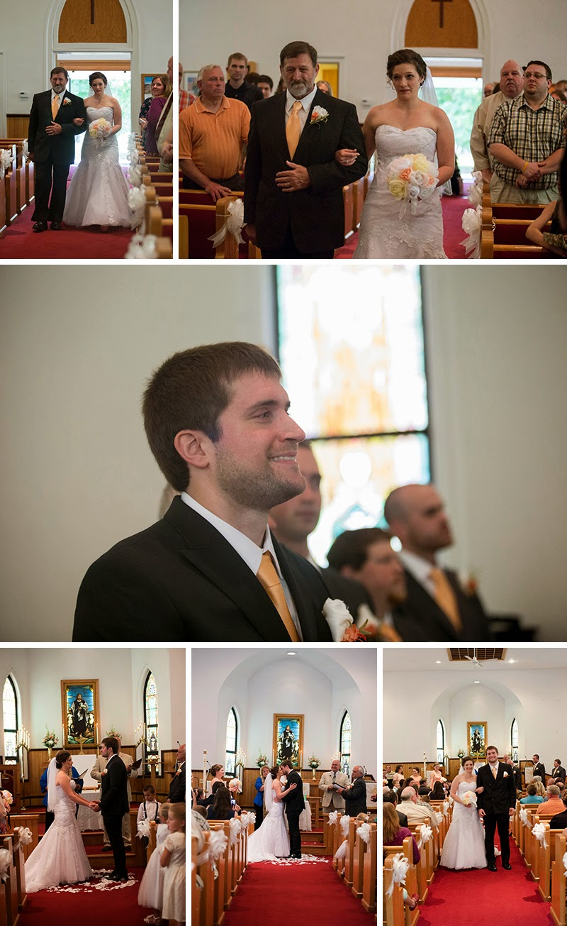 Beautiful Western PA wedding. Reminisce Banquet Hall Emlenton, PA Sandra Jackson Photography
