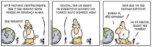 Tirinhas da Luna #41: 'Que coisa...' | Ordem da Fênix Brasileira
