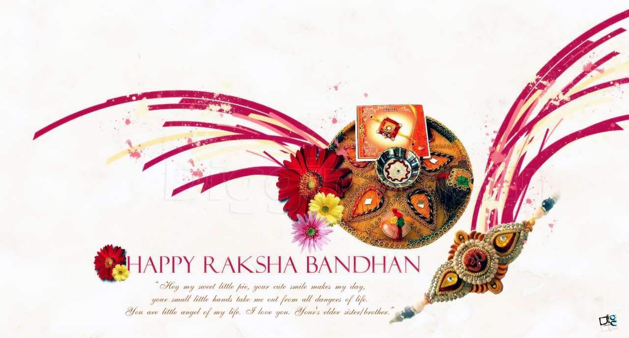 Abhay kumar on this special days heres my warm wishes for your happinessprosperity and success wish you a happy raksha bandhan sky is blue feel this hue kristyandbryce Choice Image