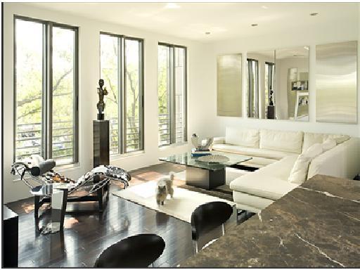 Decora y disena may 2010 for Imagenes de salas modernas y elegantes