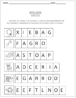 Atividades para Alfabetização - Mexe-Mexe 2