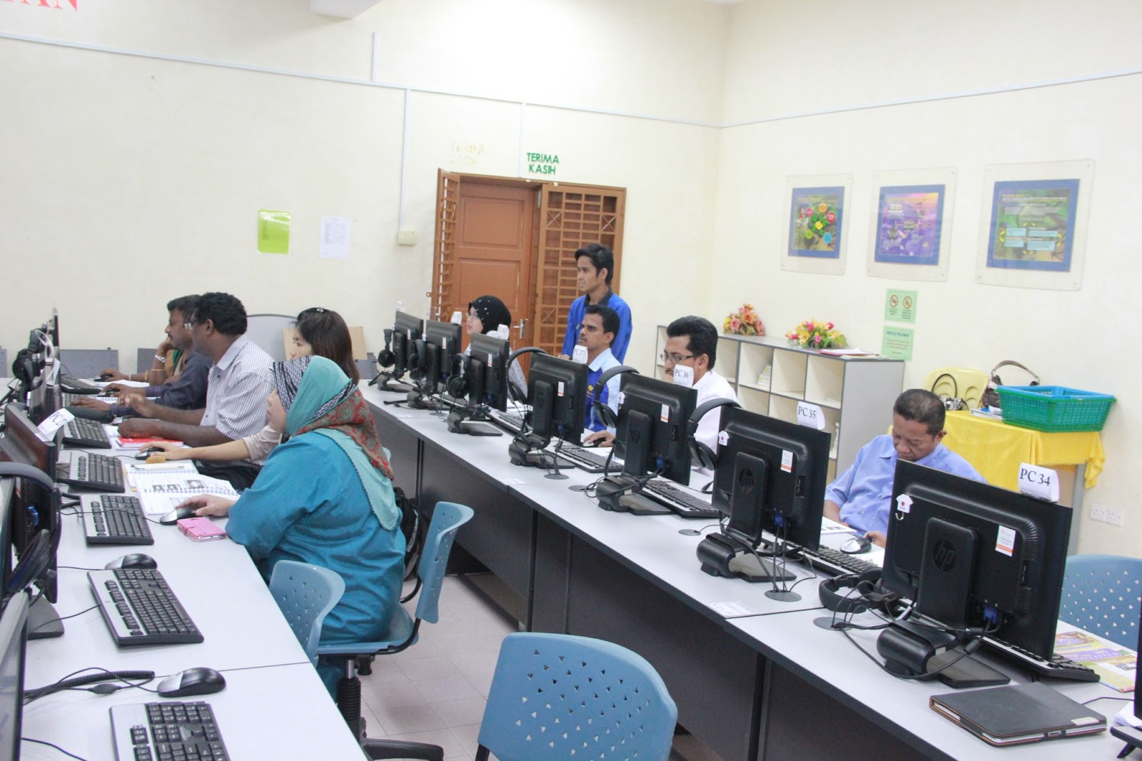 latihan Program Virtual Learning Enviroment (FROG VLE) bagi guru-guru
