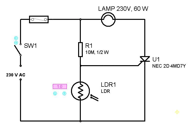 lamp scr schematic