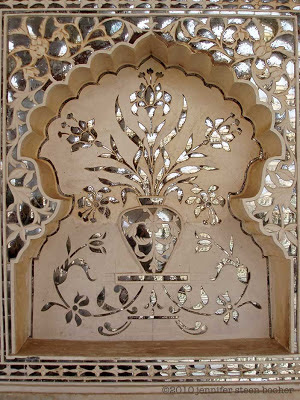 mirror, mosaic