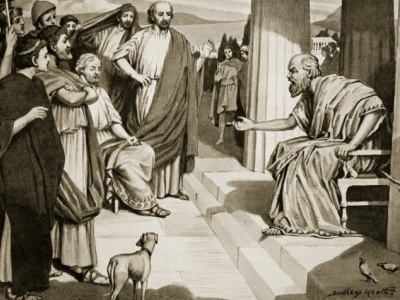 Dudley Heath: Socrates addressing the Athenians