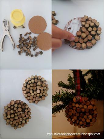 Enfeites de Natal ecológicos