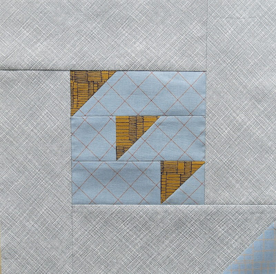 Modern sampler quilt - Block #14 - Inspired by Tula Pink City Sampler