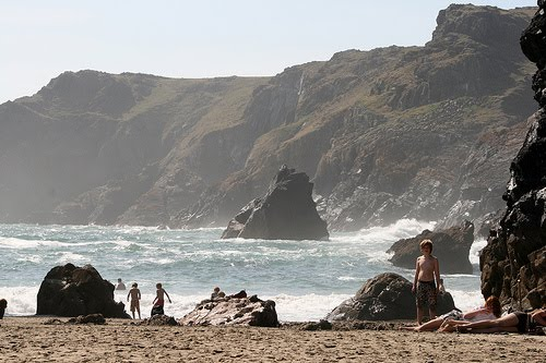Kynance Cove Beach