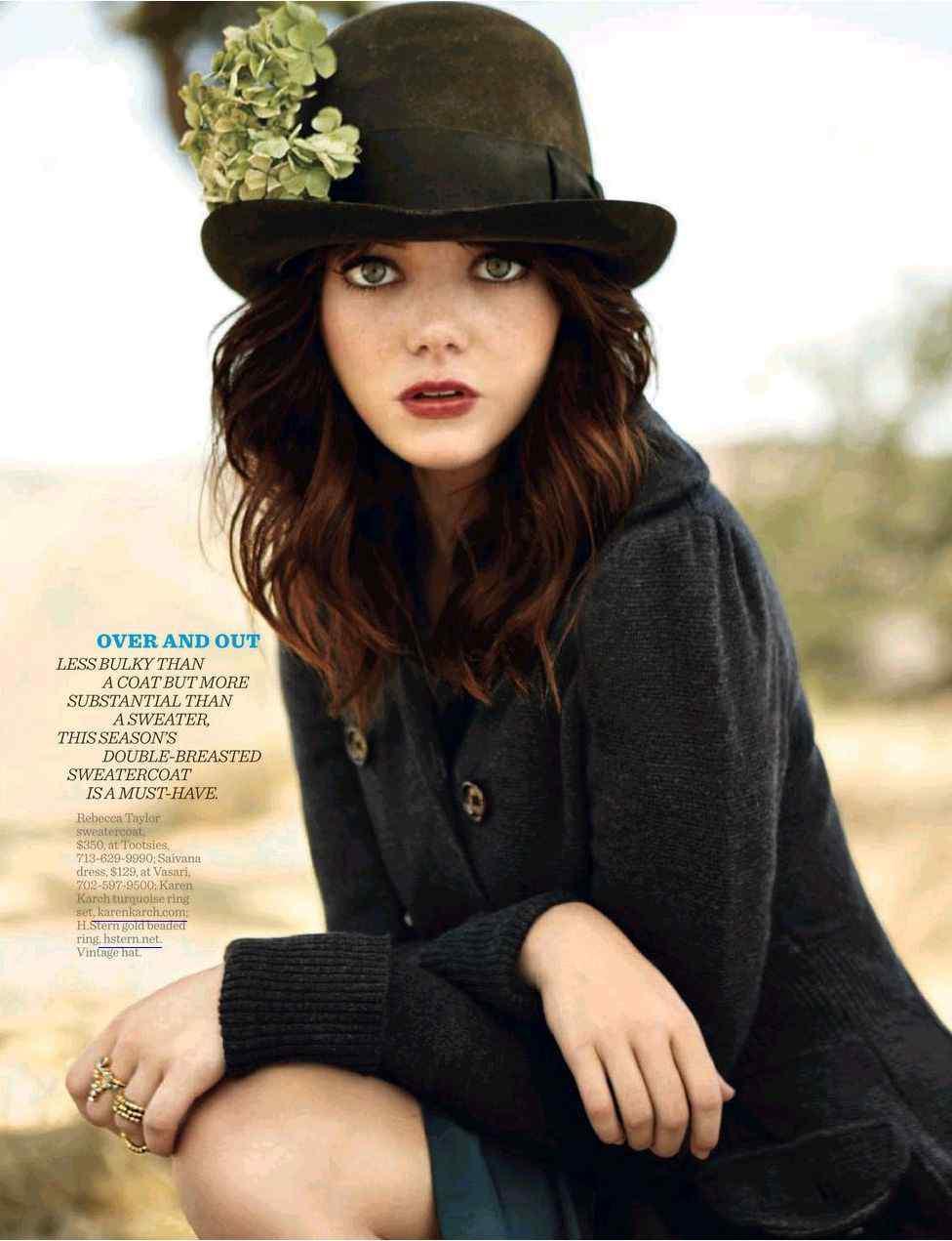 American Actress Emma Stone - Girls Idols Wallpapers and ... Emma Stone Zombieland Hair