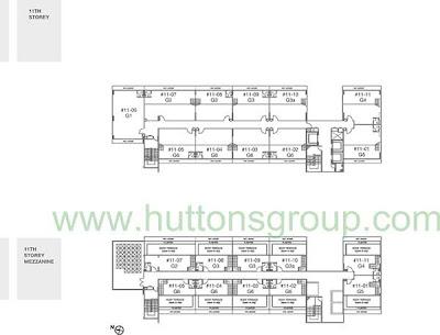 Novelty Bizcentre 1st Storey Floor Plans