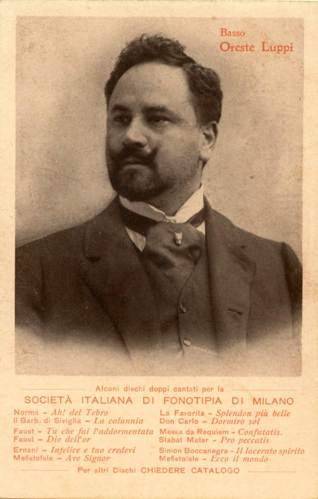 ITALIAN BASS ORESTE LUPPI (1870-1962) CD