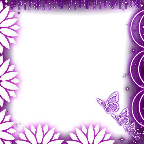 flower and butterfly frame sonia editor