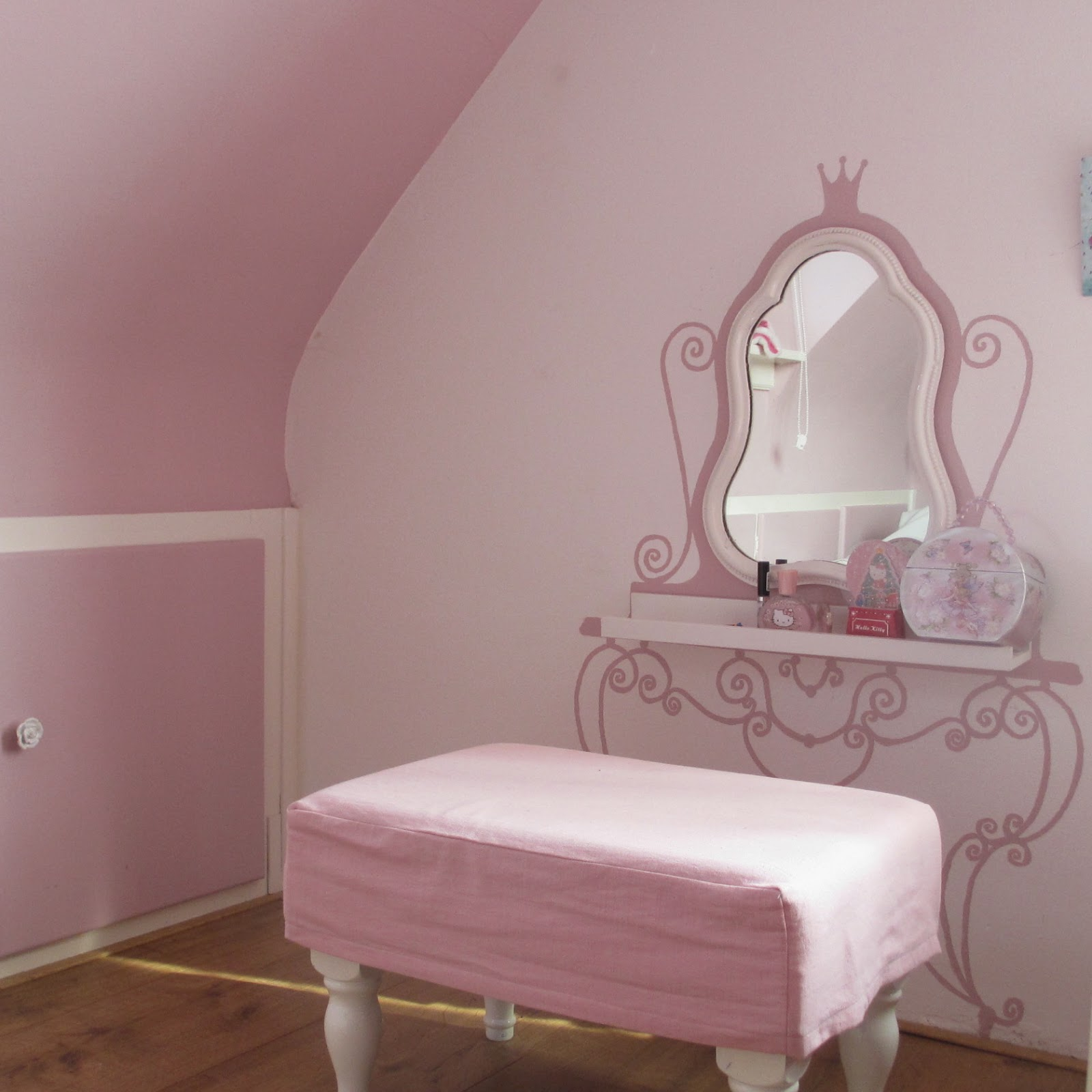 Vandani who 39 s afraid of pink and white - Roze meid slaapkamer ...
