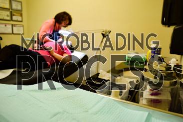 Microblading Process