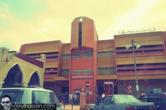 Gambar Pasar Besar Siti Khadijah, Kota Bharu, Kelantan