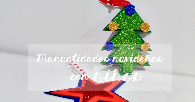 Manualidades navide as con ni os for Manualidades navidenas con cartulina