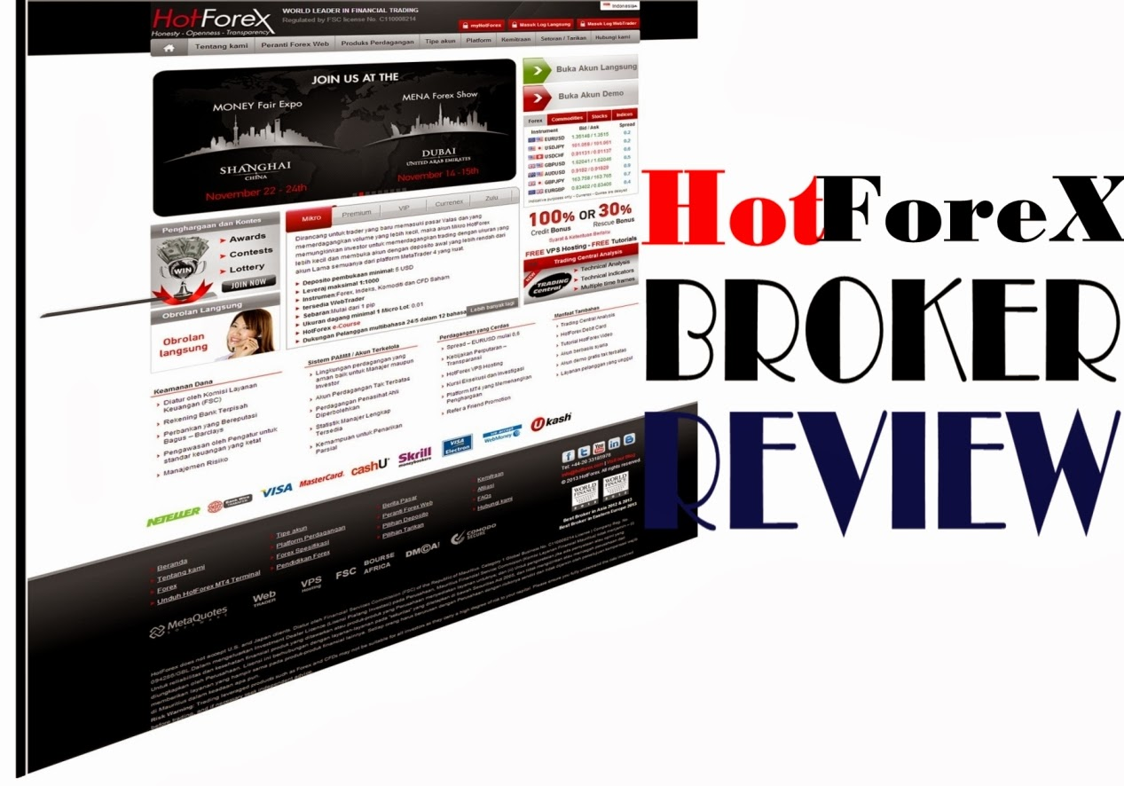 forex broker review 2013