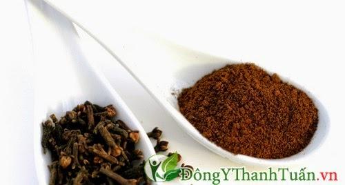 Chữa bệnh hôi miệng hiệu quả với bột đinh hương