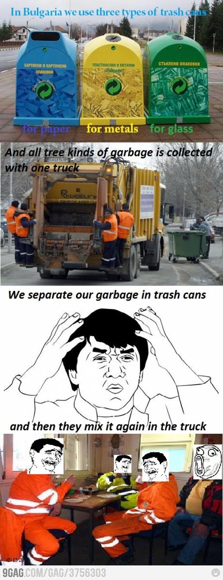 Weird Trashcan in Bulgaria