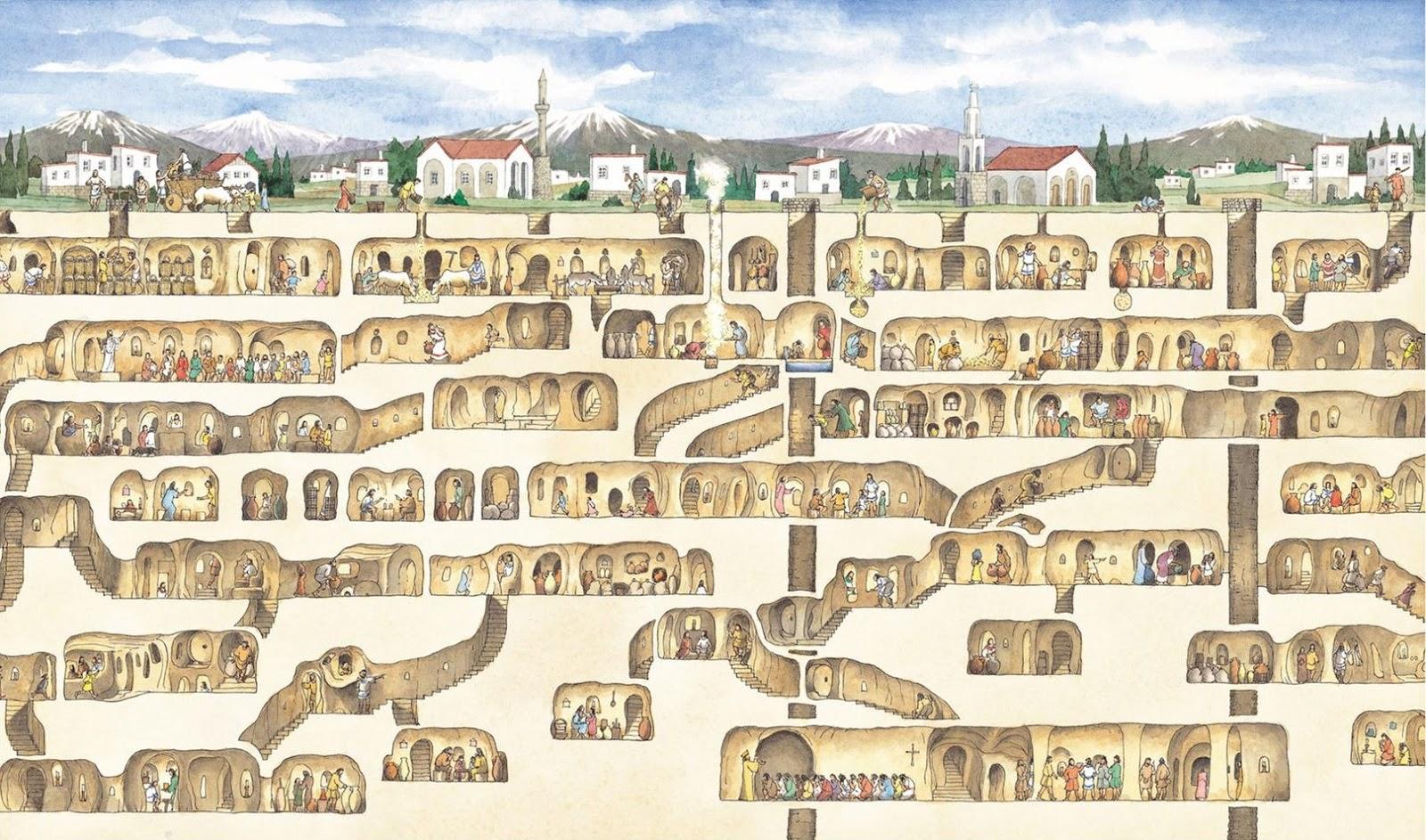 Baño Turco Kadirga Hamami Estambul:La ciudad subterránea se ve en unos 90 minutos, y es muy importante