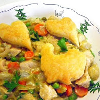 Carla Hall's Smothered Lemon Chicken with Peas and Carrots 9.28.11