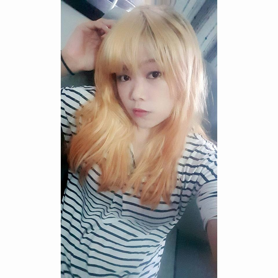 Momo Lin ~: Hair Transformation To Ombre Blue And