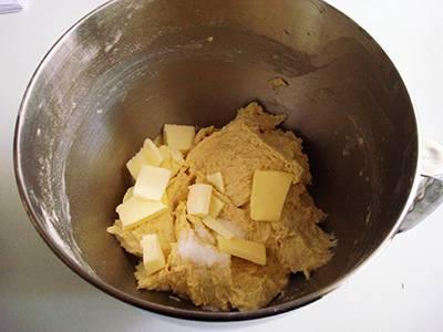Ciambella gorgonzola e noci: sesto passaggio