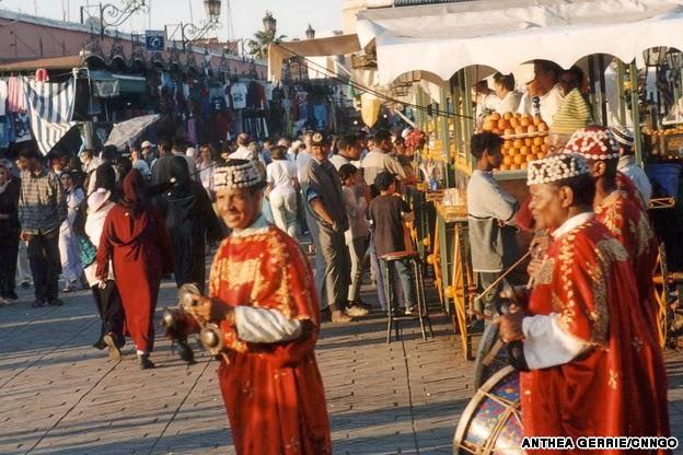 Djmaa el Fna, Morocco