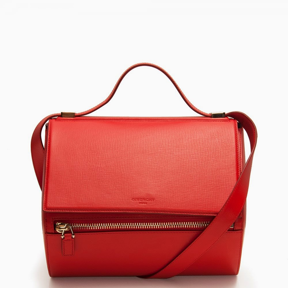 trend alert - red bags, givenchy pandora box in red