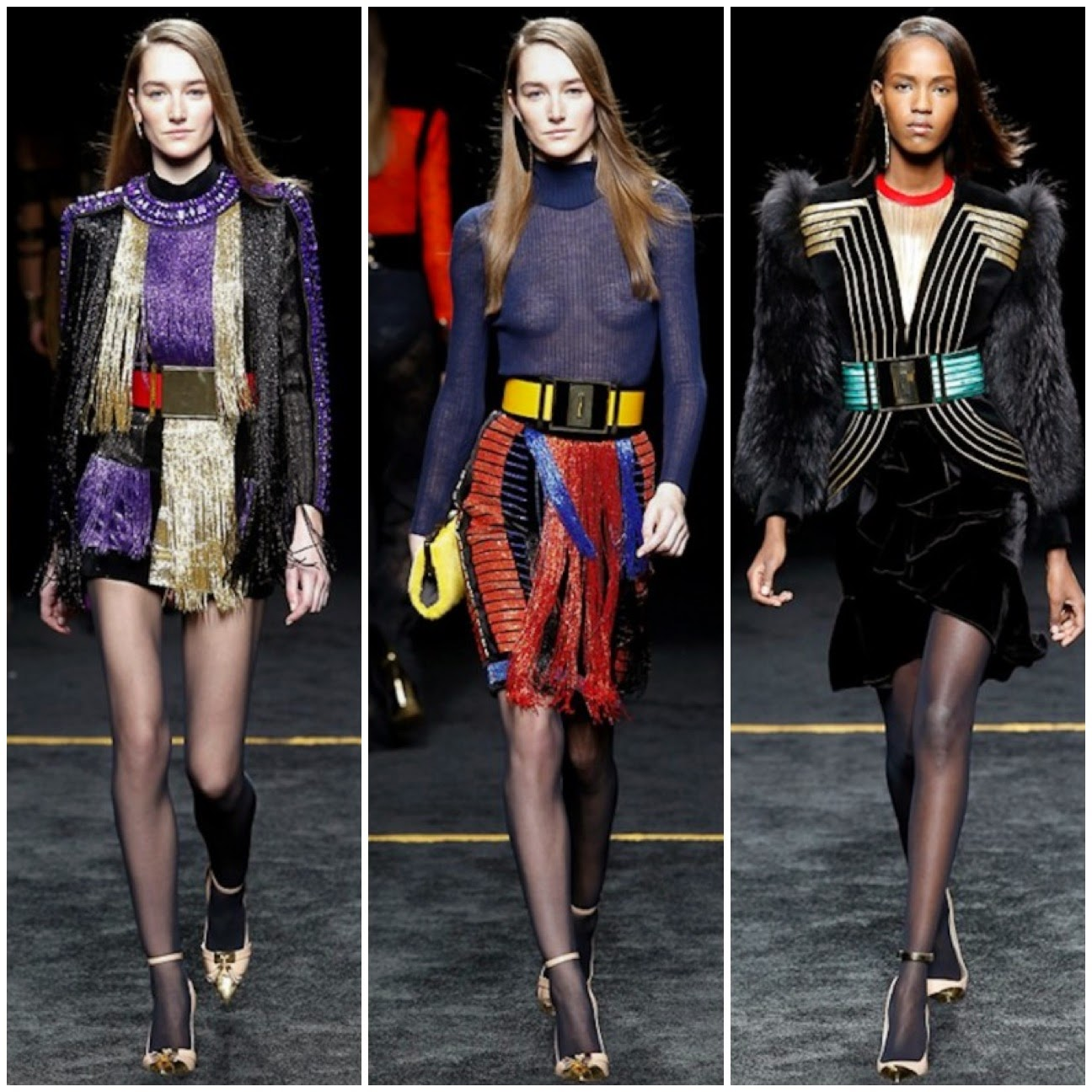 Balmain Paris fashionweek fall-winter