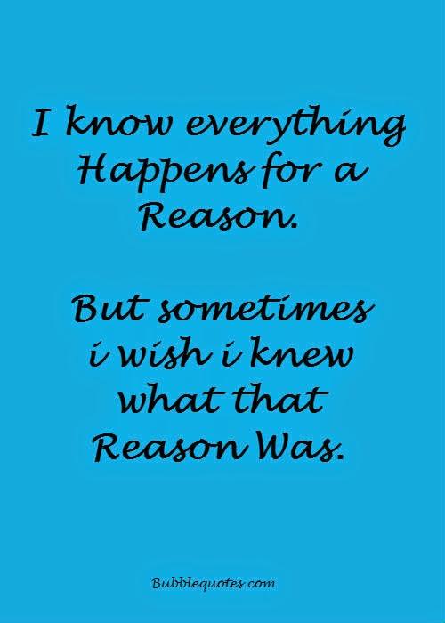 I wish i knew the reason image quote