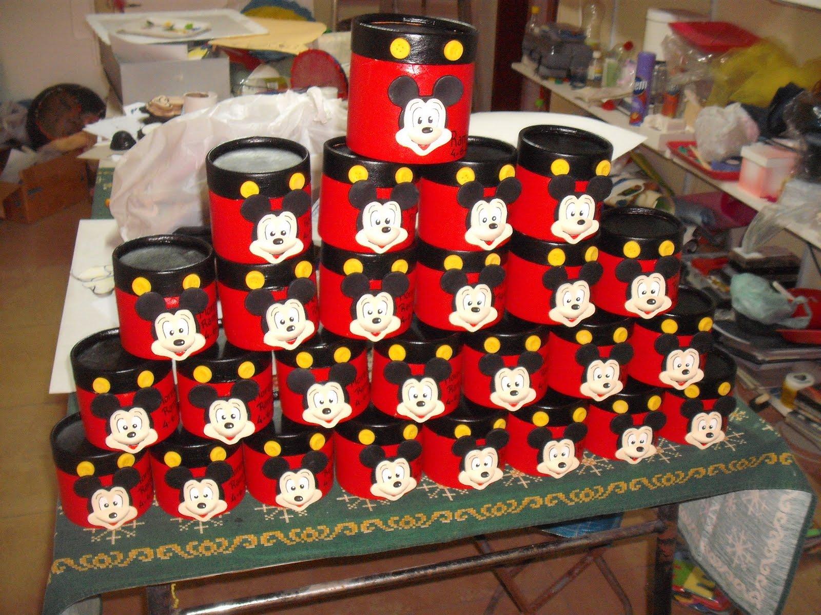 Cotillon Taller Magico: Cajas Souvenirs Mickey - hecho por Taller ...