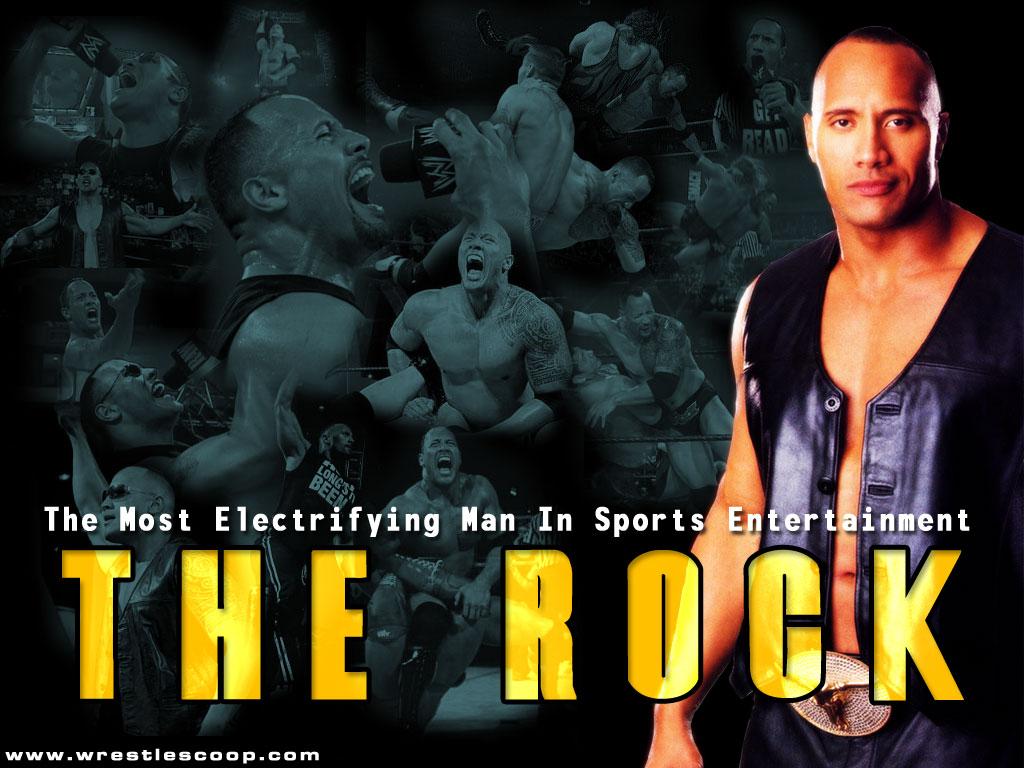 Rock wrestling wallpapers wwe superstars wwe wallpapers - Rock wallpaper ...