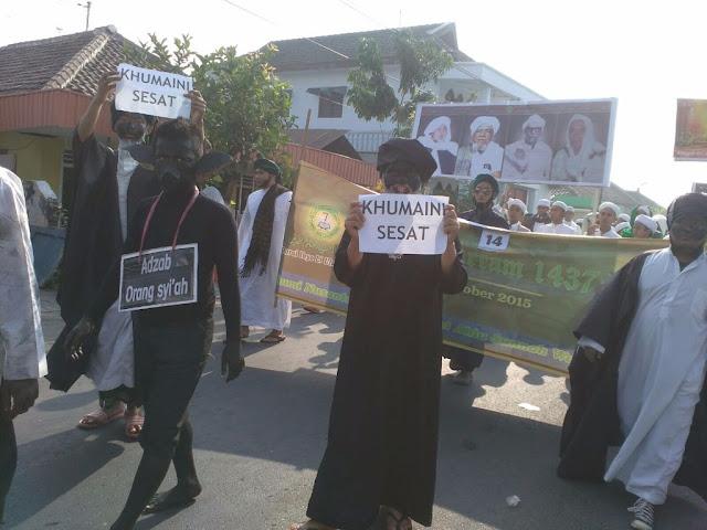 Ribuan Umat Islam Bangil Ikuti Pawai Muharram Tolak Syiah