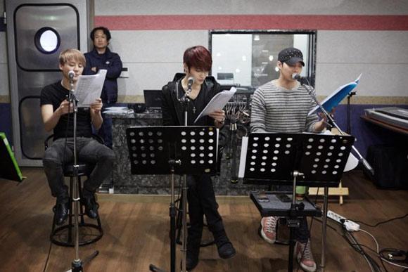 JYJ miệt mài tập luyện cho concert tại Tokyo Dome