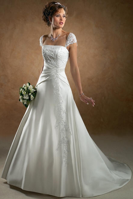 Inner peace in your life the most beautiful wedding dress for Most unique wedding dress designers