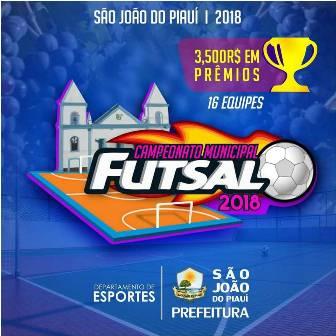 Campeonato Municipal de Futsal edição 2018