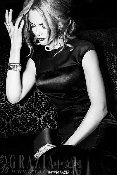 Nicole Kidman cover of the magazine Grazia